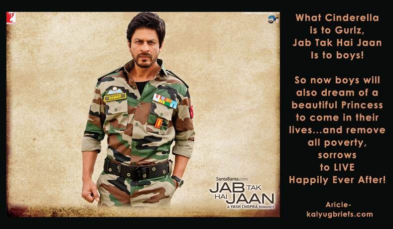 What is the most amazing thing about film 'Jab Tak Hai Jaan'?