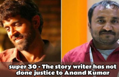 Super 30 – The story writer has not done justice to Anand Kumar!
