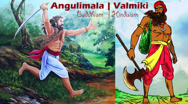 The forgiving nature of our creator – Valmiki & Angulimala