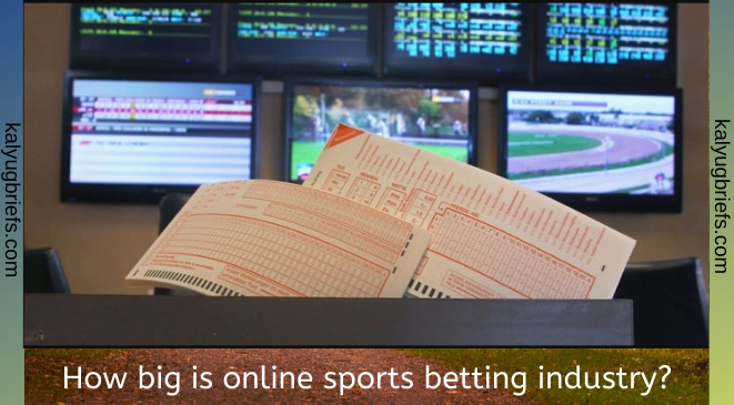 How big is online sports betting industry?